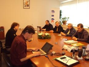 Závěrečná schůzka členů Řídícího týmu, 7. 12. 2012, Praha